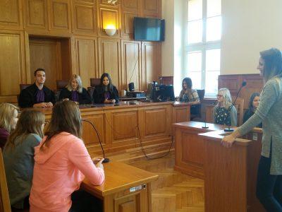 27 września 2017 – Wizyta w Sądzie Rejonowym w Nowym Mieście Lubawskim